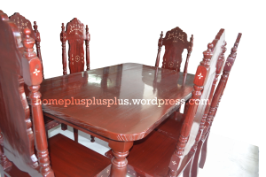 Furniture For Sale Home Plus-A.G. Dining Set 6 seater